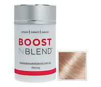 BOOSTNBLEND HAIR THICKENING FIBRES 22grams -DEVELOPED BY WOMEN FOR WOMEN!