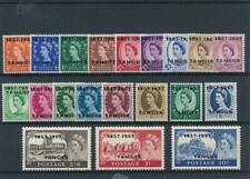 [55097] Morocco Agencies Tangier 1957 good set MH Very Fine stamps