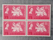 Ascension Island SG 84 FREEDOM FROM HUNGER 1963 MNH BLOCK