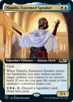 Niambi, Esteemed Speaker - Foil - Extended Art x1 Magic the Gathering 1x Magic 2