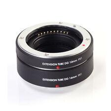 AF Macro Extension Tube DG 10+16mm for Fujifilm Fuji XF FX X X-T2 X-T1 X-A1 X-E2