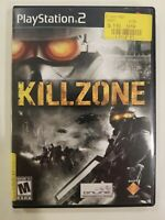 Killzone (Sony PlayStation 2, 2004) PS2 NO MANUAL  TESTED FREE SHIP