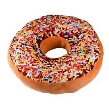 Car Office Home Doughnut Donut Shaped Ring Plush Zipper Open Soft Cushion Pillow