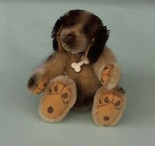 Puzzle Bear Mohair Character Dog by Anita Weller Teddy Bear England
