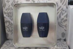 NAVY FOR MEN COLOGNE SPRAY & AFTER SHAVE SPLASH 2-PC GIFT SET BOXED