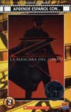 La máscara del Zorro Book + CD Lecturas Graduadas: Aprende Espanol Con...: