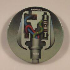 HAWKWIND PXR5 CHARISMA RECORDS PROMO METAL PIN BADGE FROM 1979 BROCK CALVERT