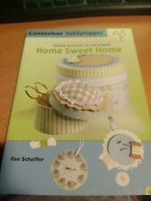 CRAFT BOOK HOME SWEET HOME CANTECLEER LANGUAGE DUTCH