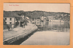 Parti fra Risor Norway 1908 Postcard