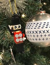 Lego Ornament Stocking Stuffer - Nutcracker / Toy Soldier Christmas Ornament DIY