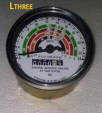 FORDSON POWER MAJOR / SUPER MAJOR TRACTOR TACHOMETER 80MM DIA DIAMETER