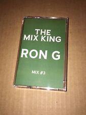 DJ RON G Mixes #3 CLASSIC HARLEM NYC 90s Cassette R&B Hip Hop Mix Mixtape Tape