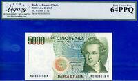 ITALY - Banca D'Italia 5000 Lire D.1985 -SCWPM # 111a - Choice-New # 638058N