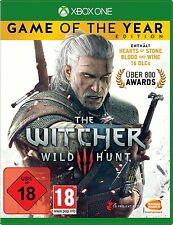 XBOX One gioco The Witcher 3-Wild Hunt Game of The Year Edition Goty Merce Nuova