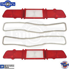 67 Impala Bel Air Taillight Tail Light Lamp Lens with Gasket USA Made - PAIR