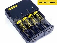 Nitecore i4 NEW 2016 Charger+NL166 16340 RCR123 Li-ion Rechargeable 3.7v Battery