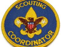 Vintage Boy Scout Scouting Coordinator Patch