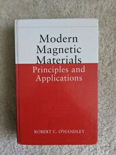 Modern Magnetic Materials Principles and Applications by Robert C. O'Handley