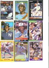18 CARD PASCUAL PEREZ BASEBALL CARD LOT !     38-39