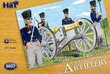 HaT Napoleonic Prussian Artillery 1/72 Scale Unpainted Plastic Figures 8007