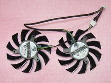 75mm MSI GTX 580 R6770 R6870 TwinFrozrII Video Card Dual Fan PLD08010S12HH R83a