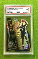 ZION WILLIAMSON PRIZM ROOKIE CARD PSA 9 MINT PELICANS 2019-20 Revolution LIFTOFF