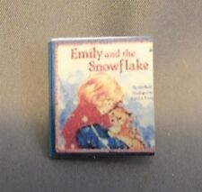 Dollhouse Miniature 1:12 Scale Emily and the Snowflake Book