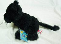 "Ganz Webkinz BLACK PANTHER 7"" Plush STUFFED ANIMAL Toy HM216 NEW w/ TAG"