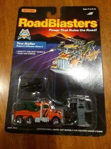 1987 Matchbox RoadBlasters Parasite Tow Nailer Rank 4 orange tow truck MOC NEW!