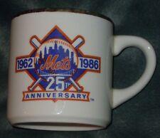 25th Anniversary Mets 1986 World Series Champions Mug
