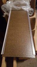 "NIB Levolor Curved Vinyl Vertical Blinds 40"" W x 38"" L Color Leather Saddle"