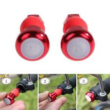 1 Pair Cycling Bike MTB LED Safety Handlebar Bicycle Turn Signal Indicator Light
