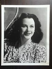 Hedy Lamar Black & White Photograph Vintage Movie Still 14 X 11