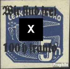 Rumburg (Sudetenland) 28 postfris 1938 Afdrukken de Duits. Feestje