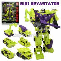 Transformers 12'' Devastator 6 In 1 Action Figure Engineering Truck Robot NO BOX