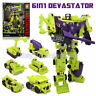 Transformers 12'' Devastator 6 In 1 Action Figure Engineering Truck Robot NO BOX