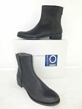 OI OBJECTS IN MIRROR Stiefelette Boots Gr 37,5  Leder Flechter NP 329,- NEU