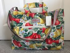 Cath Kidston Oilcloth Pear Print Shopping Bag Cross Body - New with Tags