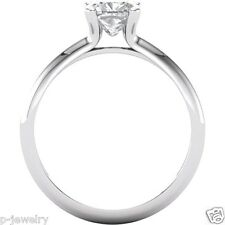 1.10 ct Antique Square Cushion Forever Brilliant Moissanite Solitaire Ring Gold