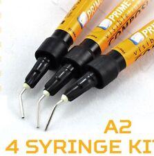 Prime Dent VLC Light Cure Flowable Composite A2 - 4 - 2 gram syringes 004-010A2