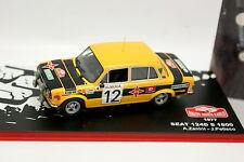 Ixo Presse Rallye Monte Carlo 1/43 - Seat 124 D S 1800 1977