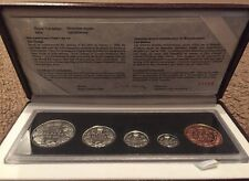 1998 Canada  RCM Proof Set 90th Anniversary Sterling Silver. Complete.