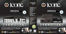 Icone Iron 4K android UHD satelitte receiver