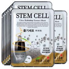 Stem Cell  Face Mask Pack Sheet Moisture Essence Facial Ultra Skin Care 10pcs