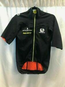 Giordana AV Versa H20 rain jersey Mitchelton Scott Men's Size Medium