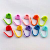 50pcs/set Knitting Weave Crochet Locking Stitch Markers Holder Needle Clip Craft