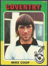 TOPPS 1975 RED & GREY BACK #096-MIKE COOP-COVENTRY CITY