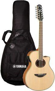 Yamaha APX700II-12 12-String Thinline Cutaway Acoustic-Electric Guitar - Na
