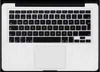 Europe Clear keyboard skin cover protector for MacBook Pro 15 A1707 Touch Bar ID