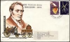 NEVIS 1989 20¢ & $1 OFFICIAL ON COVER TO FIJI 2 VALUES